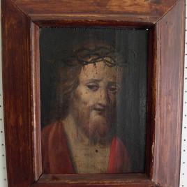 Dipinto su tavola del cristo – Passione