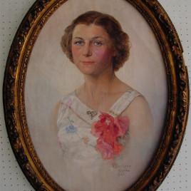 Ritratto olio su tela (Algeri 1941)
