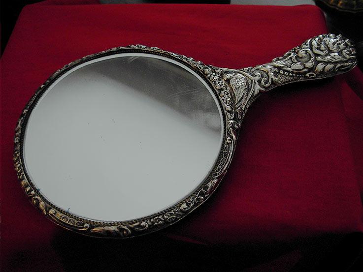 Specchio Da Toilette Inghilterra La Fenice Antiquariato
