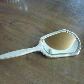 Specchiera da toelette in argento
