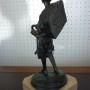 Achille D'Orsi - Scultura in bronzo - Piccolo venditore di pesce