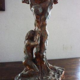 Scultura Terracotta – Passione di Cristo – Gilberto Carpo