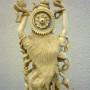 La Fenice Antiquariato - Verbania - Statua in avorio raffigurante Śiva Shiva Naṭarāja Shiva