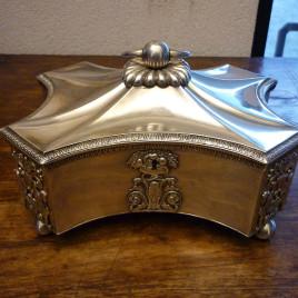 Cofanetto in argento – Polonia – Periodo Impero