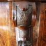 la Fenice Antiquariato - Verbania - vetrina intarsiata di provenienza Inglese periodo vittoriano